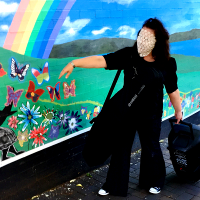 Laceface loves butterflies and rainbows
